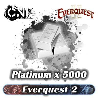 Everquest 2 Platinum – All Server 5000K