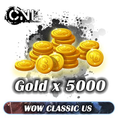 Wow classic US – 5000 Gold Pack