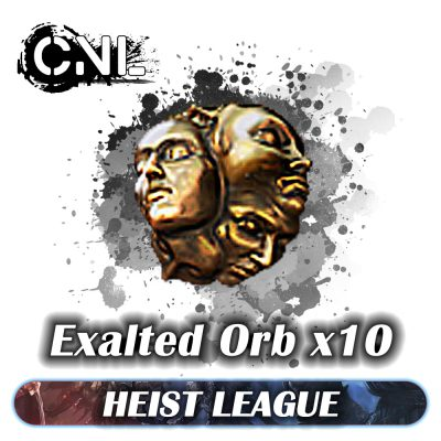 Exalted Orb x10 – Heist Softcore