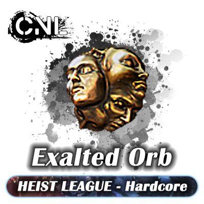 Heist Hardcore – Exalted Orb