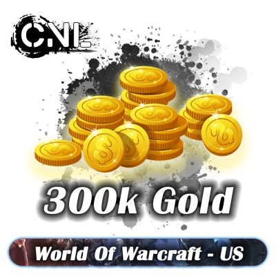 WoW BFA US – Pack 300000 gold