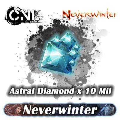 (PC) Neverwinter Astral Diamond – 10 Million Astral Diamond