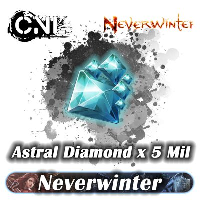 (PC) Neverwinter Astral Diamond – 5 Million Astral Diamond