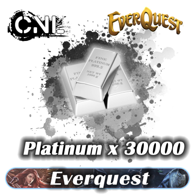 Everquest Platinum x30000