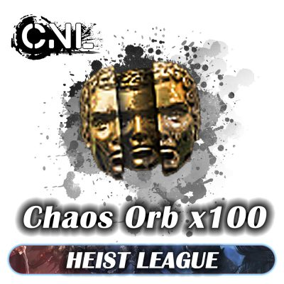 [PC] Heist Softcore – Pack 100 Chaos orb