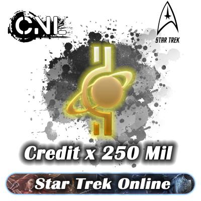 Star Trek Online Credit – 250Mil