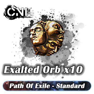 Exalted Orb x10 – Standard SC