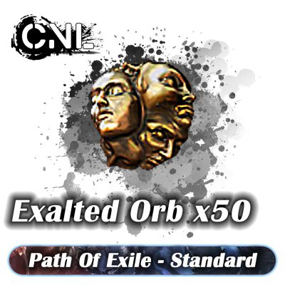 Exalted Orb x50 – Standard SC