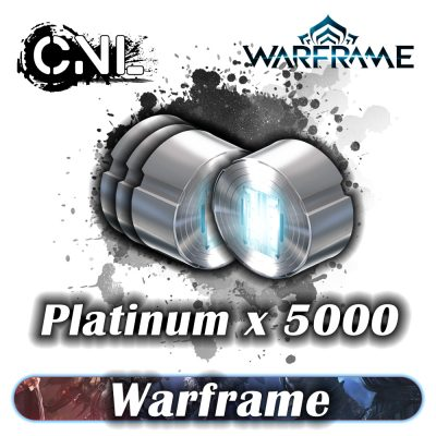 (PC) Warframe Online – 5000 Platinum Pack
