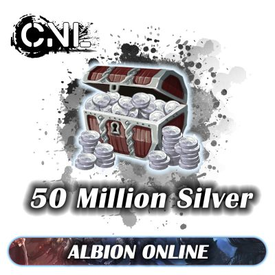 Albion Online Silver – 50 Million Silver
