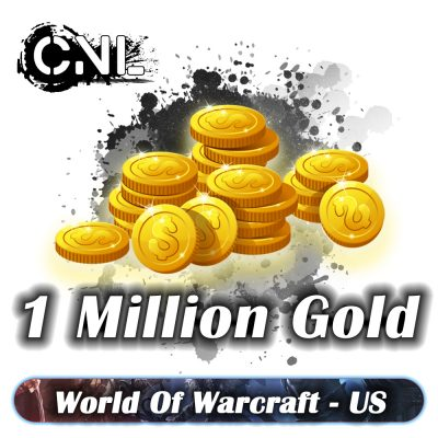 WoW BFA US – Pack 1 Million Gold