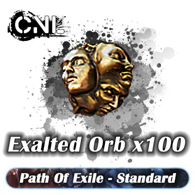Exalted Orb x100 – Standard SC