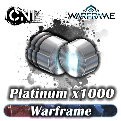 (PC) Warframe Online – 1000 Platinum Pack