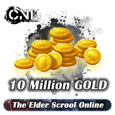 The Elder Scroll Online PC – Pack of 10 million Gold