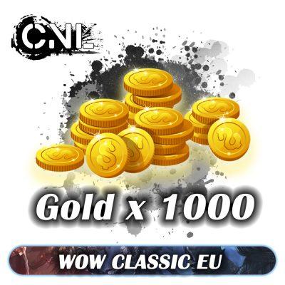 Wow classic EU – Goldx1000