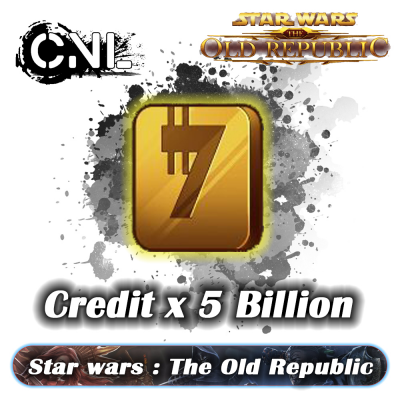 Star Wars: The Old Republic Credits – 5Bil (All Server)