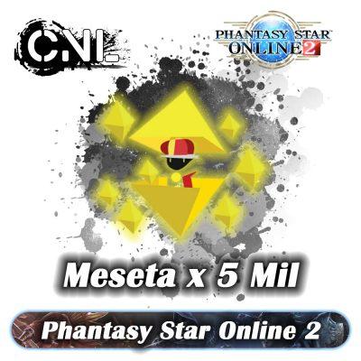 Phantasy Star Online 2 – Meseta 5Mil