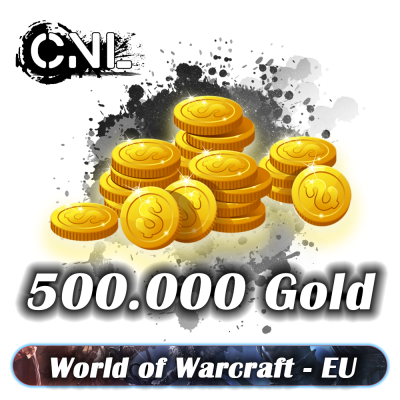 WoW BFA EU – Pack 500000 gold